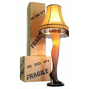 "Amazon.com: A Christmas Story Full Size 45"" Leg Lamp: Home Improvement"