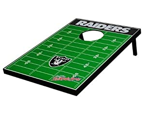 Oakland Raiders NFL Football Field Bean Bag Toss Game by Unknown