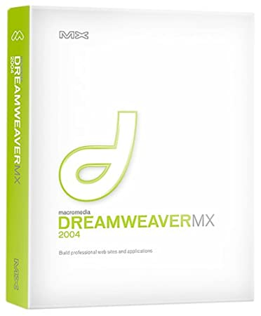 Macromedia Dreamweaver MX 2004 [OLD VERSION]