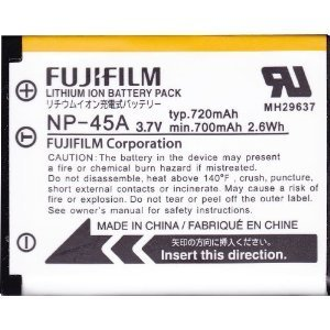 Fujifilm Original OEM Battey - Fujifilm NP-45A Li-Ion Battery Pack for Digital Cameras (Bulk Package)
