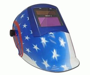 LONGEVITY USA Flag Style Mig Tig Stick Plasma Cutter Welding Helmet Mask by Longevity Global