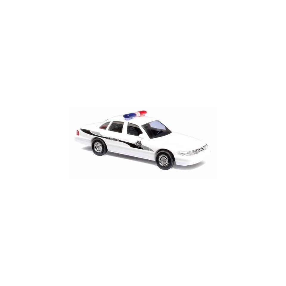 Busch HO (1/87) Ford Crown Vic Marshal Police Car Toys & Games