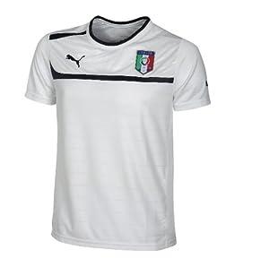 Puma Italie  Maillot mixte adulte Blanc S