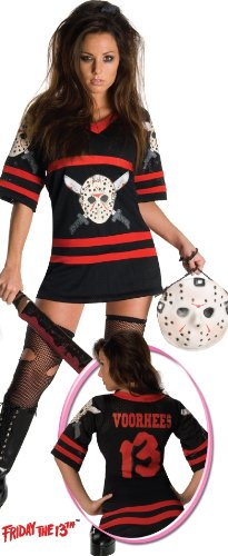 Sexy Adult Womens Halloween Costumes Friday the 13th Jason Voorhees Dress Costume Theme Party Outfit