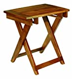 Conair Home Acacia Wood Folding Shower Seat