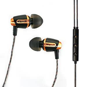 Klipsch Reference S4i Premium In-Ear Noise-Isolating Headphones with Microphone (Black) (Discontinued by Manufacturer)