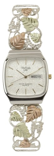 Black Hills Silver Men's Watch with Grapes and Leaves (Coleman Mens Watch compare prices)
