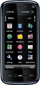 Nokia 5800 XpressMusic Smartphone (GPS, WLAN, HSDPA, UMTS, EDGE, MP3, 3,2 MP, Ovi Karten) blue