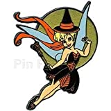 Disney Pin - Tinker Bell with Moon in Witch Costume - Halloween - Pin 78578
