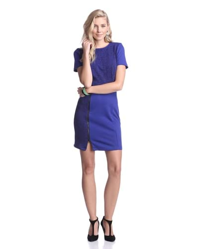 W118 by Walter Baker Women's Lucy Dress  [Black/Blue]