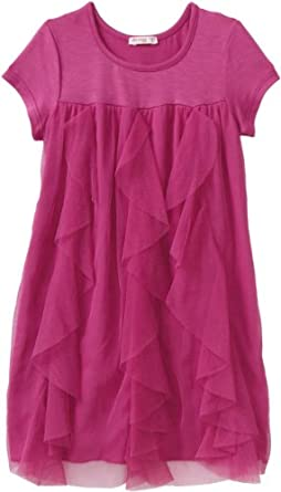 Little Ella Girls 2-6X Tiny Dancer Dress, Fuschia, 5/6