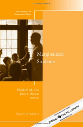Marginalized Students: New Directions for  Community...