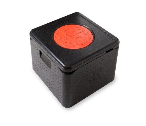 *7er Paket* – THE BOX Thermobox Pizza groß 79772; schwarz, Außenmaß 41 x 41 x 33 cm, Innenmaß 35 x 35 x 26,5 cm, Nutzhöhe 26,5 cm, 32 l. jetzt kaufen
