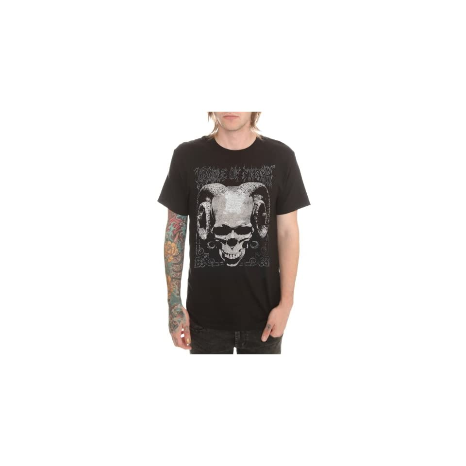 Cradle Of Filth Skull T Shirt 4XL Size  XXXX Large