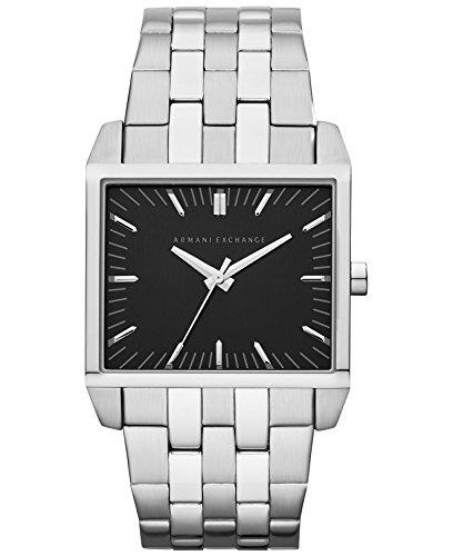 Brand New Armani Exchange Men'S Stainless Steel Bracelet Watch 32X38Mm Ax2213