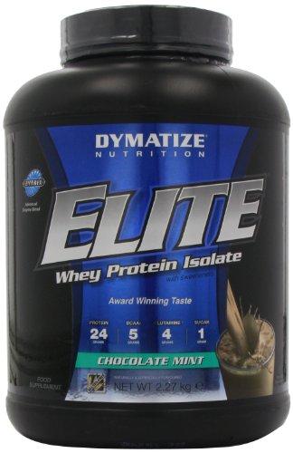 Dymatize Nutrition Elite Whey Protein Powder, Chocolate Mint, 5 Pound
