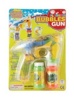 IIT 08460 4-LED Flashing Bubble Gun