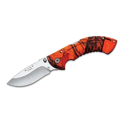 Buck 395 Omni Hunter 10 PT Folding Hunting Knife (Oak Blaze Camo)