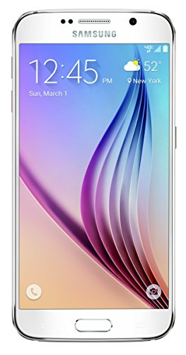 Samsung - Galaxy S6 4g Lte With 32gb Memory Cell Phone - Whi