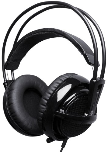 SteelSeries Siberia V2 FullSize Headset with Microphone - Black (PC)