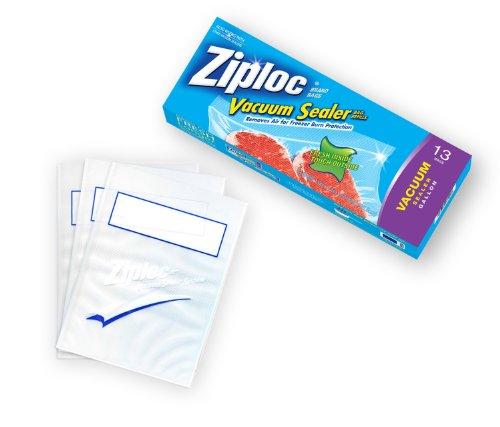 Ziploc Vacuum Sealer Gallon Bags, Pack of 13 (Vacuum Seal Bags Ziploc compare prices)