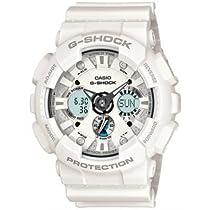 Casio GA120A-7A G-Shock Mens White Ana-Digi XL Watch