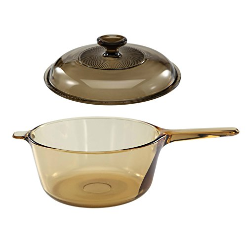 Corning Vision Visions 2.5L Covered Saucepan with Lid (Corning Vision Cookware compare prices)