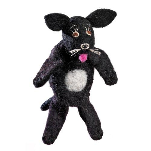 Wild Woolie Finger Puppet Labrador - 1