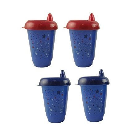 Babies R Us 10 Ounce Spout Cups 4-Pack - Patriotic