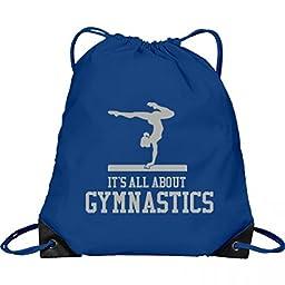 It\'s All About Gymnastics: Port & Company Drawstring Bag