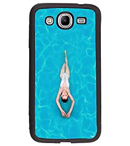 PRINTVISA Sports Swimming Case Cover for Samsung Galaxy Mega 5.8 I9150