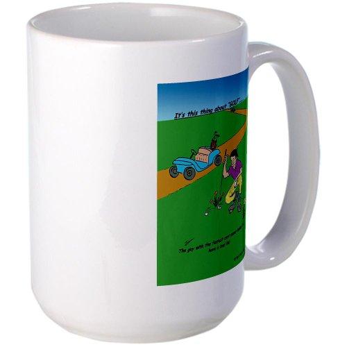 Cafepress Fastest Cart Large Mug Large Mug - Standard