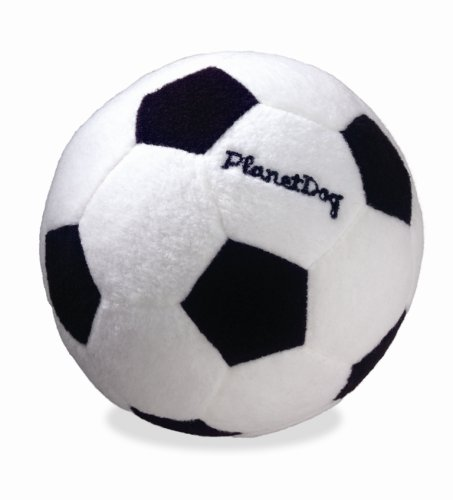 Planet Dog Squeaky Plush Soccer Ball