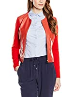 Trussardi Jeans Cazadora Piel (Rojo)