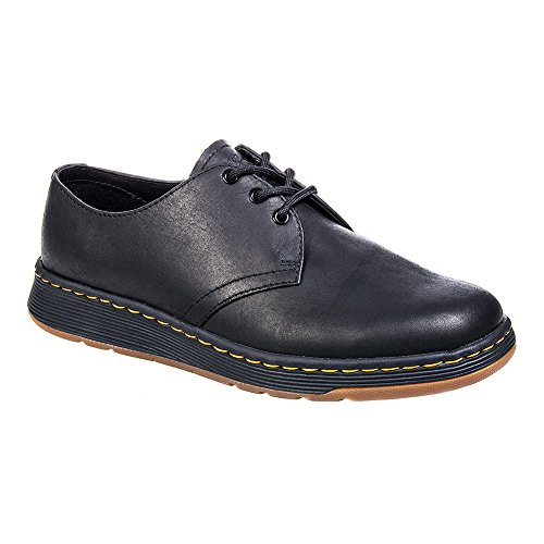 Dr Martens Nero Cavendish 3 Eye Scarpe-UK 10