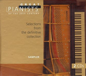 Great Pianists of the 20th Century - Selections from the definitive collection [Sampler] by Fryderyk Chopin,&#32;Johannes Brahms,&#32;Franz Liszt,&#32;Anton Rubinstein and Franz Joseph Haydn