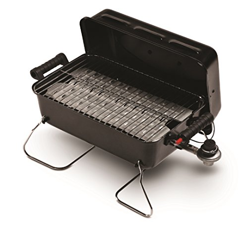 Cuisinart CGG Petit Gourmet Portable Gas Grill with VersaStand View on Amazon Blackstone Table Top Grill - 17 Inch Portable Gas Griddle - Propane Fueled - For Outdoor Cooking While Camping, Tailgating or Picnicking BEAU JARDIN Portable Charcoal Barbecue Smoker Tailgating Round Standing Camping BBQ Kettle Grills, Outdoor Steel Cooking.