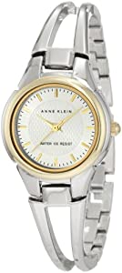 Anne Klein Women's 10/9817SVTT Two-Tone Bangle Watch