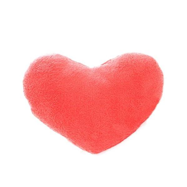 Binmer(TM)Soft Emoji Heart-Shaped Pillow Plush Toy Decorative Cushion  Pillow for Home Sofa Office