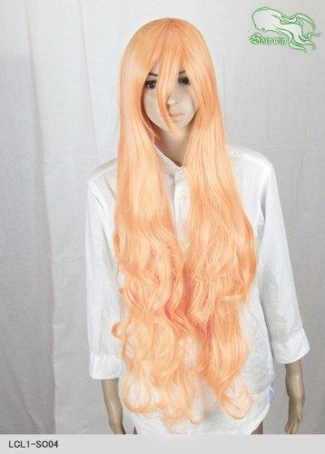 スキップウィッグ 魅せる シャープ 小顔に特化したコスプレアレンジウィッグ ドーリィロング オレンジキャンディ
