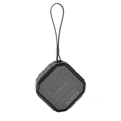 AUKEY Bluetooth スピーカー ポータブル ワイヤレススピーカー IP65 防水&防塵認証 高音質 iPhone、iPad、Sonyなどに対応 SK-M13
