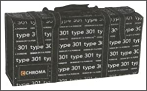 Chroma type 301 chefs bag. Made from quality vinyl materials. Will hold up to 10 knives and small sharpening stone.