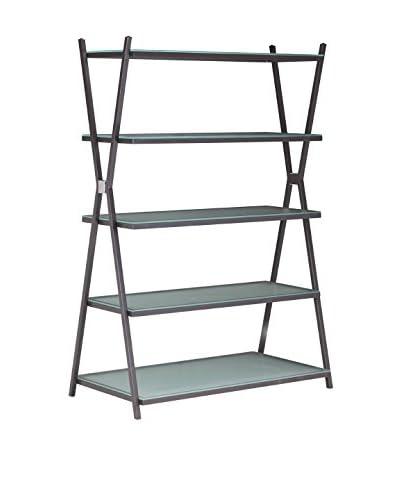 Zuo Xert Wide Shelf, Smoke Grey