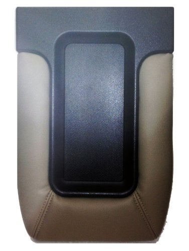 Factory Replacement Center Console Seat Lid 99-06 Chevy Silverado, GMC Sierra, 00-06 Suburban, Tahoe Yukon - Beige (06 Chevy Console compare prices)