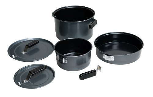 Coleman 6-Piece Family Cookset (Camp Cook Pans compare prices)