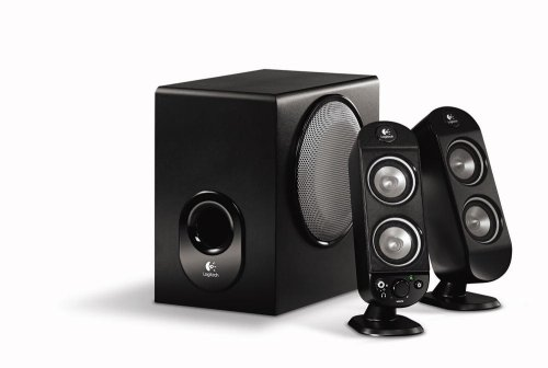 Logitech X-230 2.1 2-Piece Dual Drive Speakers With Ported Subwoofer