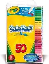 Comprar Crayola - Juego de rotuladores lavables (50 unidades)