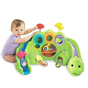 Fisher-Price Roll-A-Rounds Drop & Roar Dinosaur