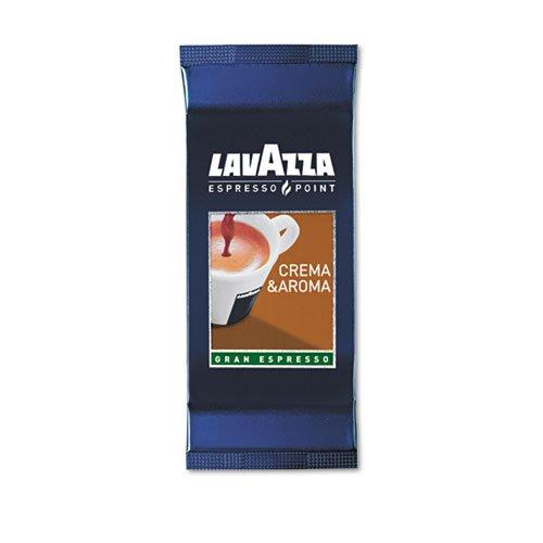 Lavazza Espresso Point Cartridges, Crema Aroma Arabica/Robusta, .25 oz, 100/Box