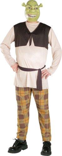 Mens Plus Size Shrek Halloween Costume